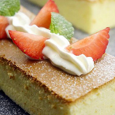 轻盈口感——轻芝士蛋糕