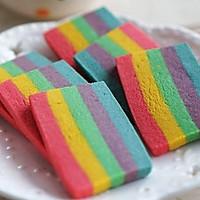 缤纷的彩虹饼干#长帝烘焙节#