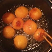 #儿童甜品#炸红薯球的做法图解10