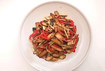 芹菜红椒炒豆干的做法