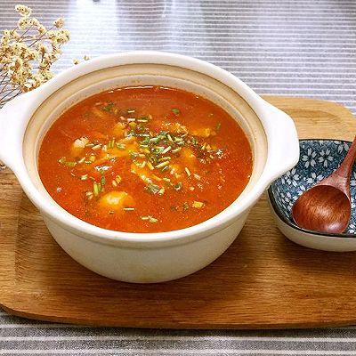 养生番茄鱼片汤