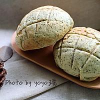 酥皮伯爵茶面包