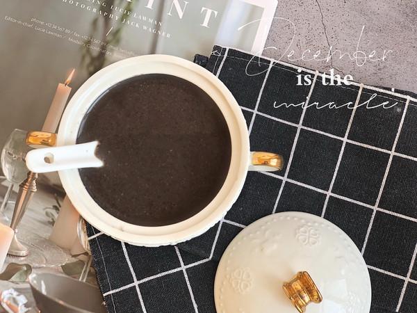 冬季养生米糊——五谷黑芝麻糊的做法