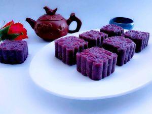 """蔓越莓紫薯月饼#享""""美""""味#【图片】"""