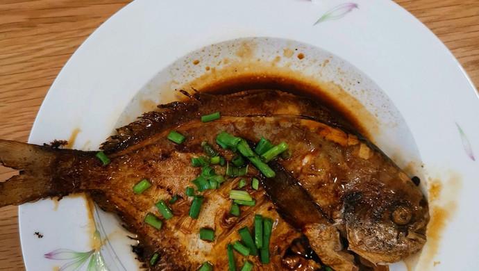 红烧美食的菜谱_鲳鱼_豆果芥末做法面怎样做更呛图片