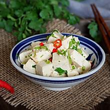 炝拌香菜豆腐