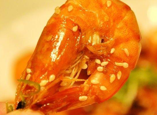 芝椒酱明虾的做法