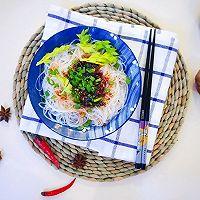 凉拌粉丝#快手又营养,我家的冬日必备菜品#的做法图解5