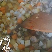 三丁炒鸡腿#金龙鱼外婆乡小榨菜籽油 最强家乡菜#的做法图解15