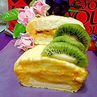 水果蛋糕卷#豆果5周年#的做法图解10