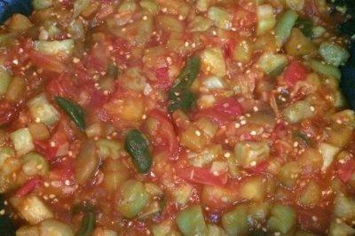 茄子蔬菜卤
