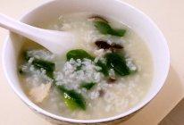 懒人营养香菇鸡丝粥的做法