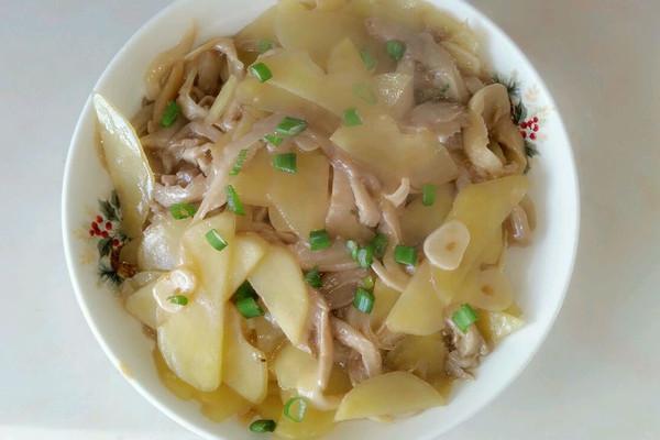 鮮蘑土豆片的做法_【圖解】鮮蘑土豆片怎么做如何做