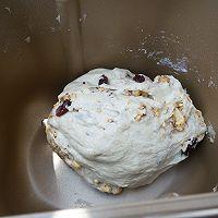 蔓越莓核桃软欧+#安佳黑科技易涂抹软黄油#的做法图解2