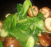 香菇青菜的做法图解3
