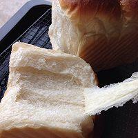 冷藏中种北海道吐司~面包机揉面的做法图解17
