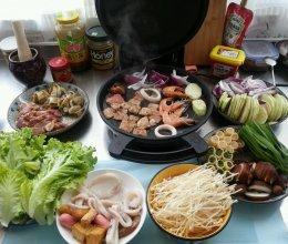 家庭自助烤肉的做法