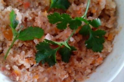 宝宝吃的西红柿粉蒸肉