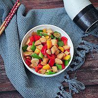 彩椒鸡丁#花10分钟,做一道菜!#的做法图解9