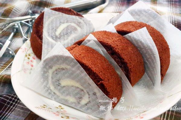 可可戚风蛋糕卷(来自中岛老师的方子)的做法