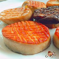 营养美味 香煎杏鲍菇的做法图解6