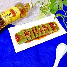 自制翡翠皮冻#金龙鱼外婆乡小榨菜籽油 我要上春碗#