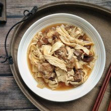 #肉食者联盟#腐竹焖排骨 腐竹比排骨还好吃