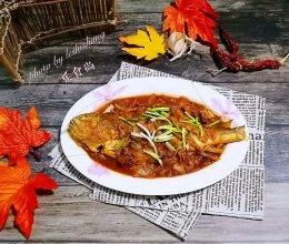 美味无敌……韩式泡菜大黄鱼的做法