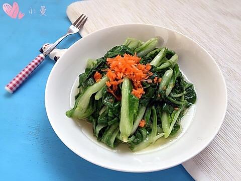 清炒小白菜的做法