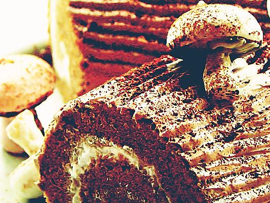(展开)        虽然树桩蛋糕本应在圣诞节的餐桌上出现,但对我来说