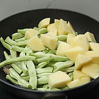 五花肉土豆芸豆炖的做法图解7