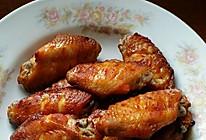蜜汁烤鸡翅中的做法