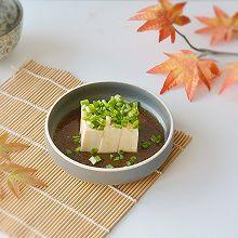 日式小葱拌豆腐