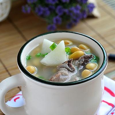 山药黄豆肉骨汤