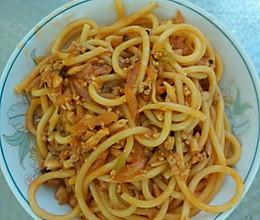 香菇肉酱意大利面的做法