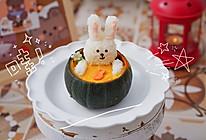 ㊙️小朋友和女生都适合喝的可妮兔南瓜浓汤的做法