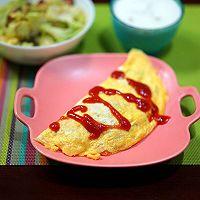 番茄蛋包饭的做法图解5