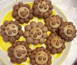 小狮子饼干无油无糖的做法