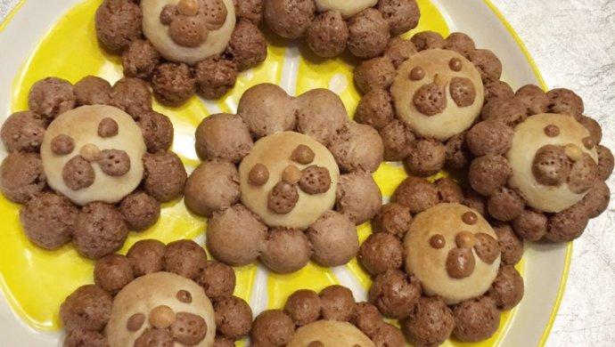 小狮子饼干无油无糖