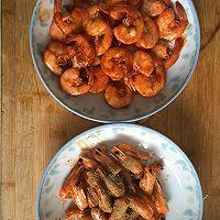 一虾两吃——虾油油焖大虾的做法图解6