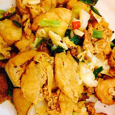 南豆腐白菜
