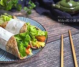 #年味十足的中式面点#杂粮卷饼的做法