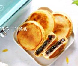 #带着零食去旅行!# 蜜红豆车轮饼的做法
