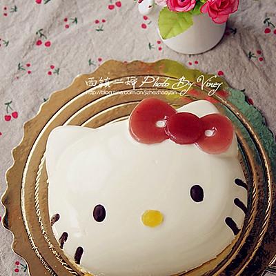 kitty酸奶冻芝士蛋糕