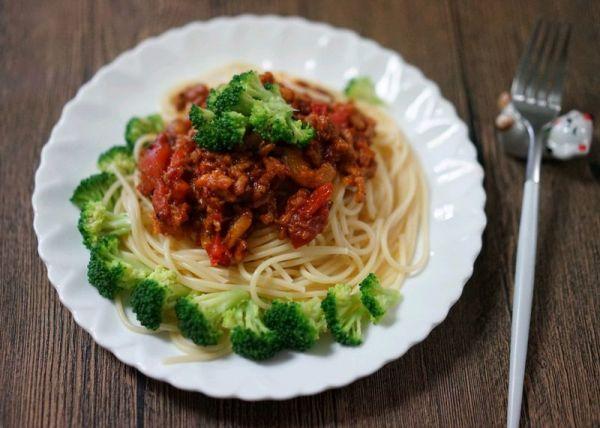 自制肉末番茄酱意面的做法