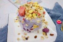 #豆果10周年生日快乐#【紫薯山药酸奶蛋糕】|健脾养胃的做法
