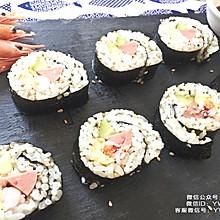 北极虾小寿司