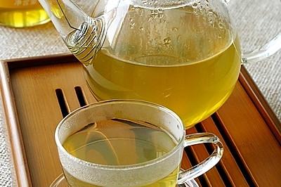荷叶山查蜂蜜茶