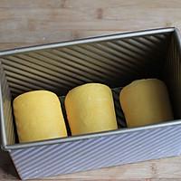"""【南瓜吐司】——很黄很""""暴力""""的蔬菜吐司的做法图解12"""