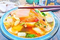 鲜虾白菜豆腐煲的做法